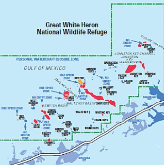 Great-White-Heron-National-Wildlife-Refuge-Map